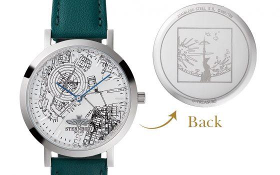 【TIGER & BUNNY】から腕時計が登場!「女神像」「シュテルンビルト」の二種類が美しい…予約は5月6日まで!【タイバニ】