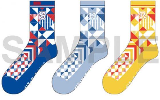【テニプリ】5校のユニフォームをイメージしたソックスとジュエリーミラー発売決定!ポップなカラーとデザインがかわいい!【テニスの王子様】